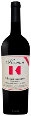 Keenan Reserve Cabernet Sauvignon Spring Mountain District 2014 (750 ml)