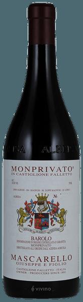 Giuseppe Mascarello e Figlio Monprivato, Barolo 2015 (750 ml)