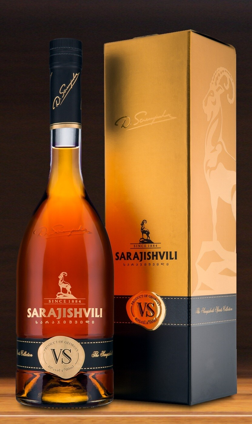 Sarajishvili V.S. Brandy, Georgian Republic (750 ml)