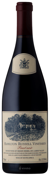 Hamilton Russell Vineyards Pinot Noir 2019 (750 ml)