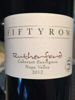 Fifty Row Rutherford Cabernet Sauvignon 2016 (750 ml)