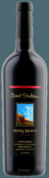 Carol Shelton Rocky Reserve Zinfandel (Florence Vineyard) 2014 (750 ml)