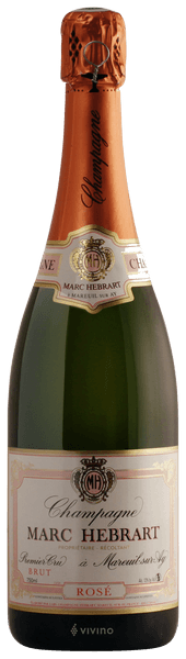Marc Hebrart Brut Rosé Champagne Premier Cru (750 ml)