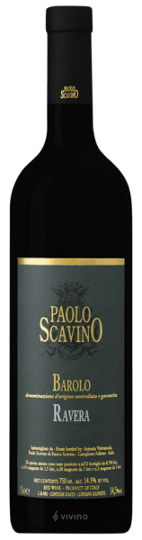 Paolo Scavino Ravera Barolo 2015 (750 ml)