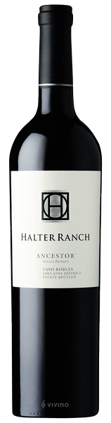 Halter Ranch Ancestor Estate Reserve 2017 (750 ml)