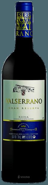 Valserrano Rioja Gran Reserva 2012 (750 ml)