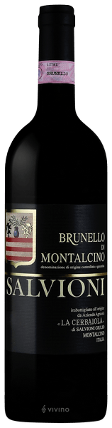 Salvioni Brunello di Montalcino 2015 (750 ml)