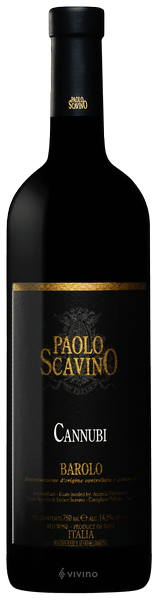 Paolo Scavino Barolo Cannubi 2016 (750 ml)