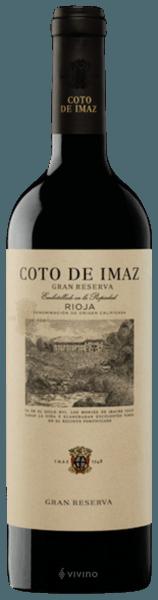 El Coto Coto de Imaz Rioja Gran Reserva 2012 (750 ml)