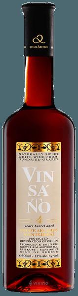 Estate Argyros Vin Santo 4 Year Barrel Aged, Santorini, Greece 2012 (500 ml)