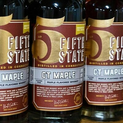 Fifth State Whiskey CT Maple (750 ml)