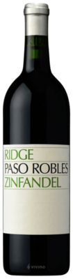 Ridge Vineyards Paso Robles Zinfandel 2018 (750 ml)