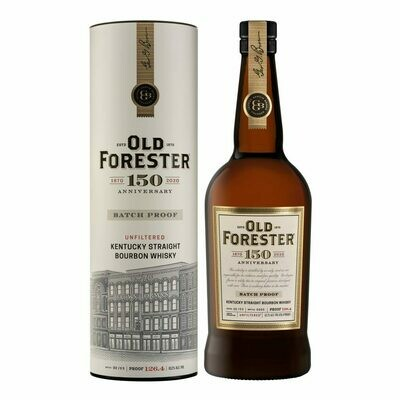 Old Forester Single Barrel 126.4 Proof Barrel Select, Small Batch Bourbon (750 ml)