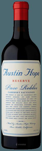 Austin Hope Reserve Cabernet Sauvignon 2018 (750 ml)