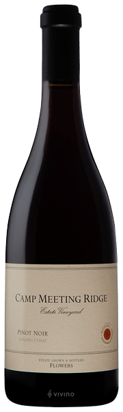Flowers Camp Meeting Ridge Vineyard Pinot Noir 2015 (750 ml)
