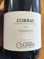 Domaine Courbis Champelrose Cornas 2015 (750 ml)