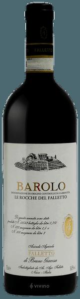 Bruno Giacosa Falletto Barolo Le Rocche del Falletto 2014 (750 ml)