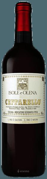Isole e Olena Cepparello Red 2017 (750 ml)