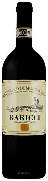 Baricci Brunello di Montalcino 2015 (750 ml)