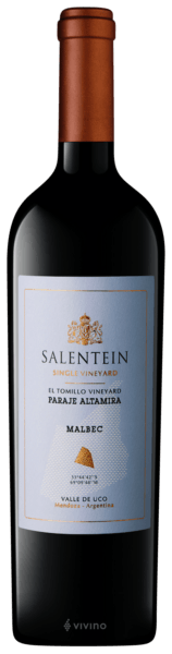 Salentein Finca El Tomillo Single Vineyard Malbec 2015 (750 ml)
