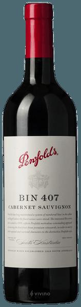 Penfolds Bin 407 Cabernet Sauvignon 2018 (750 ml)