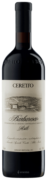 Ceretto Asili Barbaresco 2016 750 ml)
