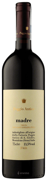 Poggio Antico Madre Toscana 2015 (750 ml)