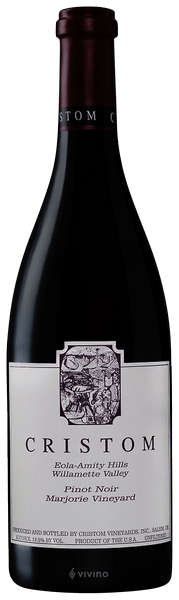Cristom Vineyards Pinot Noir Marjorie Vineyard Eola-Amity Hills 2018 (750 ml)