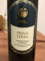 Valle Martello Prima Terra Montepulciano d'Abruzzo 2012 (750 ml)