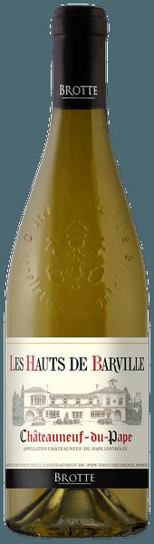 Brotte Châteauneuf-du-Pape Les Hauts de Barville Blanc 2020 (750 ml)