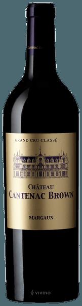Château Cantenac Brown Margaux (Grand Cru Classé) 2018 (750 ml)