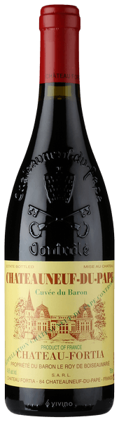 Château Fortia Cuvée Du Baron Châteauneuf-du-Pape 2017 (750 ml)
