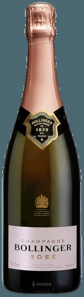 Bollinger Rosé Brut Champagne (750 ml)