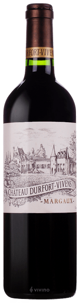 Château Durfort-Vivens Margaux (Grand Cru Classé) 2016 (750 ml)