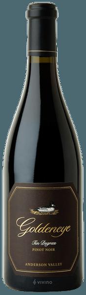 Goldeneye Ten Degrees Pinot Noir