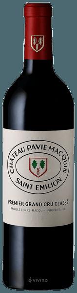Château Pavie Macquin Saint-Émilion Grand Cru (Premier Grand Cru Classé) 2015 (750 ml)