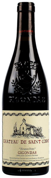 Château de Saint Cosme Gigondas Hominis Fides 2018 (750 ml)