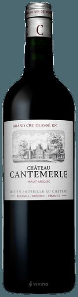 Château Cantemerle Haut-Médoc (Grand Cru Classé) 2015 (750 ml)