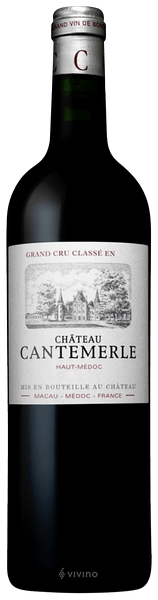Château Cantemerle Haut-Médoc (Grand Cru Classé) 2018 (750 ml)