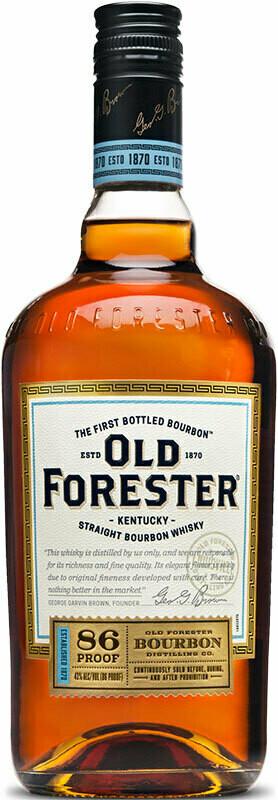 Old Forester Kentucky Straight Bourbon Whiskey 86 Proof, Kentucky (750 ml)