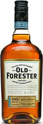 Old Forester Kentucky Straight Bourbon Whiskey 86 Proof, Kentucky (750 ml)
