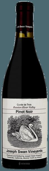 Joseph Swan Vineyards Cuvée de Trois Pinot Noir 2016 (750 ml)