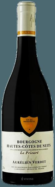 Aurélien Verdet Le Prieuré Bourgogne Hautes-Côtes de Nuits Rouge 2018 (750 ml)
