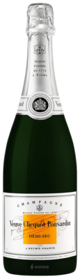 Veuve Clicquot Demi-Sec Champagne (375 ml)