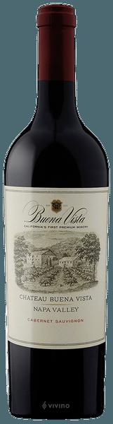 Buena Vista Chateau Buena Vista Cabernet Sauvignon Napa Valley 2018 (750 ml)