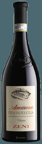 Zeni Amarone della Valpolicella Classico 2017 (750 ml)