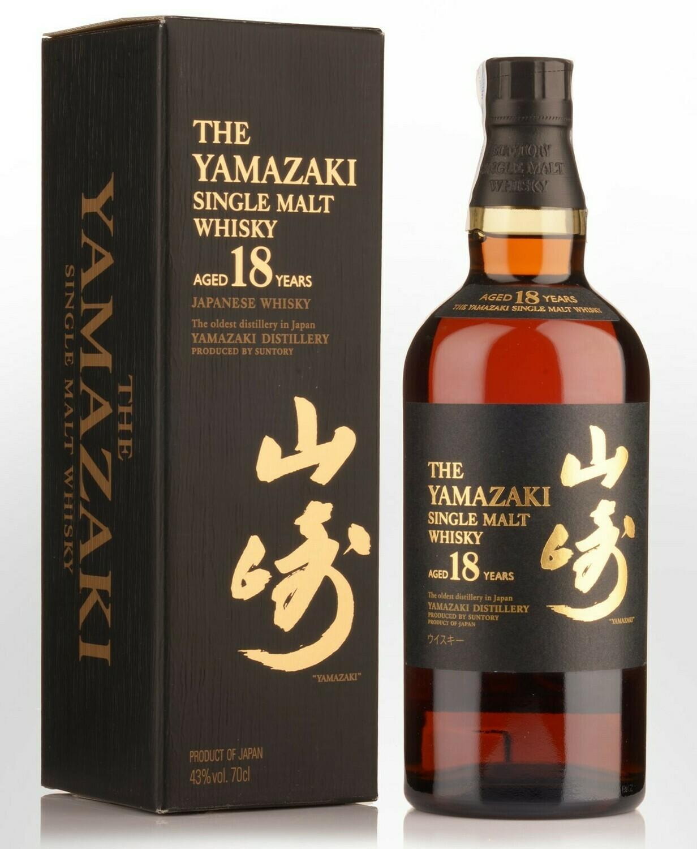 The Yamazaki 18 Year Old Single Malt Whisky 750 ml