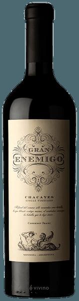 El Enemigo Gran Enemigo Single Vineyard Chacayes Cabernet Franc 2016 (750 ml)