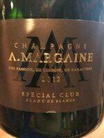 A Margaine Special Club Blanc de Blancs Champagne 2013 (750 ml)