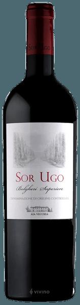 Aia Vecchia Sor Ugo Bolgheri Superiore 2017 (750 ml)